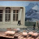Bühnenarbeit im Aalto-Theater