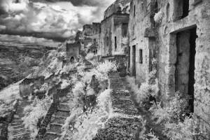 Matera - verlassene Höhlenwohnungen