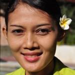 Junge Balinesin