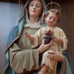 Basilika  di Santa Croce - Maria mit dem Kinde (Cartapesta-Kunsthandwerk)