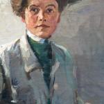 Toni Farwick (1886 - 1979) Selbstporträt um 1915