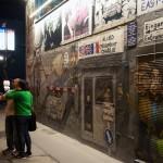 Selfie an der Rest-Mauer (Bernauer Straße)