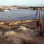 Fischer in Land's End (Südspitze des indischen Subkontinents)