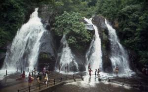 Courtallam Waterfalls - Tamil Nadu