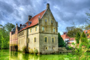 Romanticized castle Senden