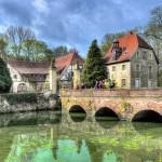 Wasserschloss Senden (romantisiert)