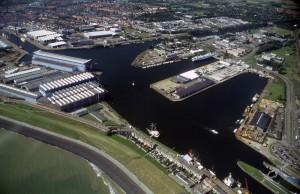 Hafen von Vlissingen