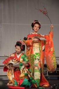 Klassischer japanischer Tanz