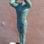 Bronze - patiniert